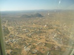 Gaborone City with Kgale Hill in the background