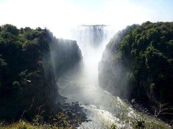 A view of Victoria Falls