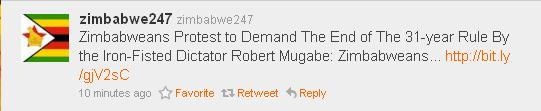 Tweet from @zimbabwe247